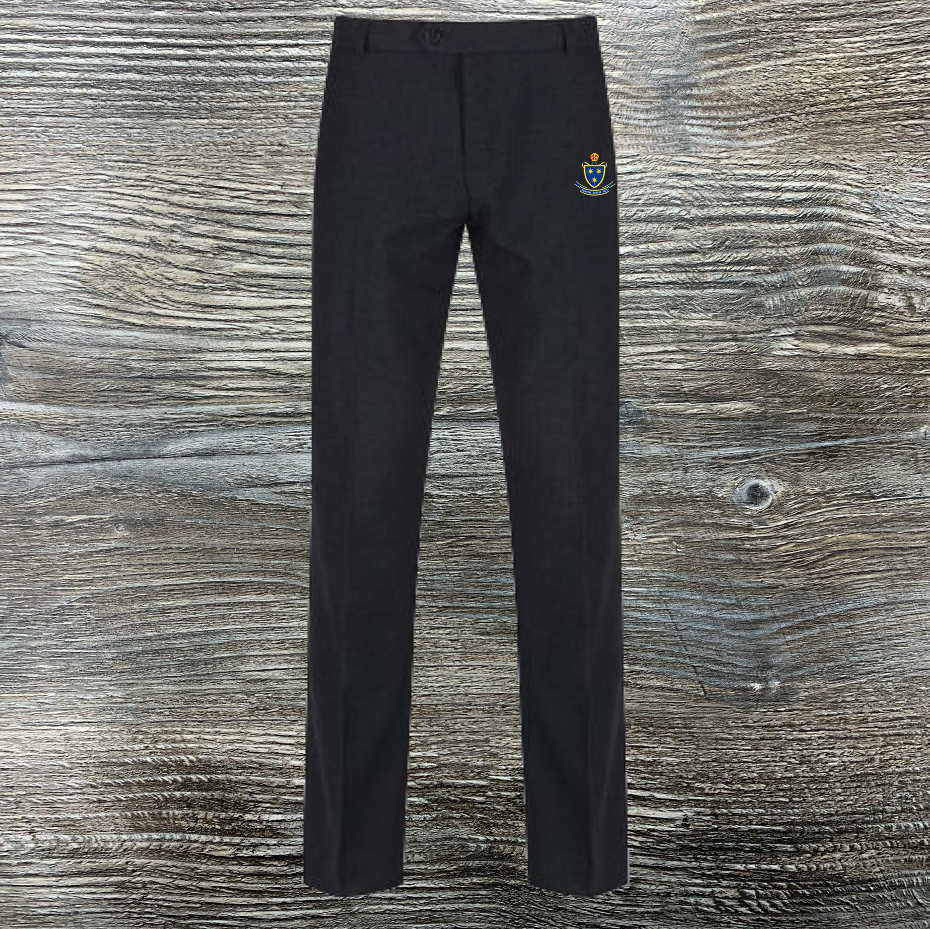St Wilfrid's Boys Trutex Charcoal Trousers