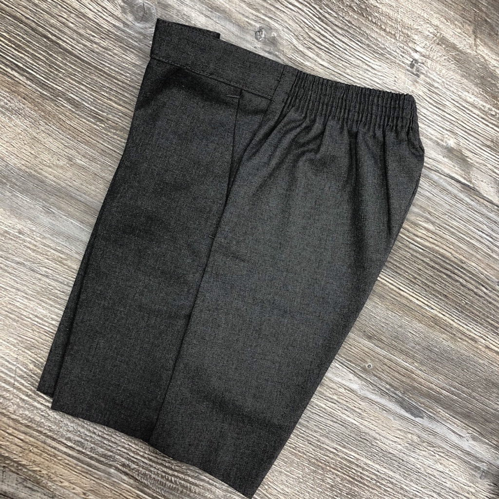 Grey Pull-up Bermuda Shorts