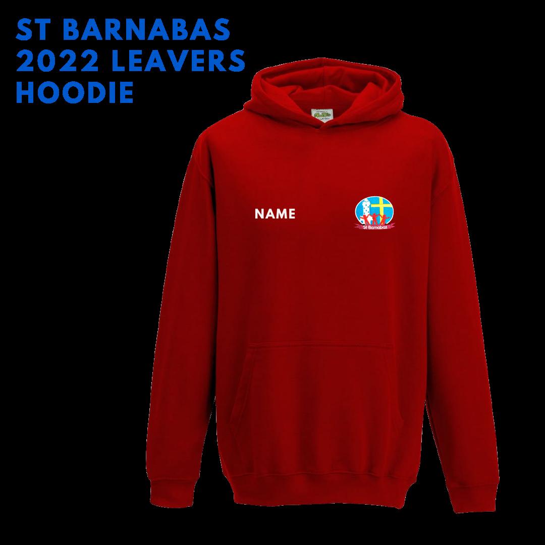 St Barnabas 2022 Leaver's Hoodie