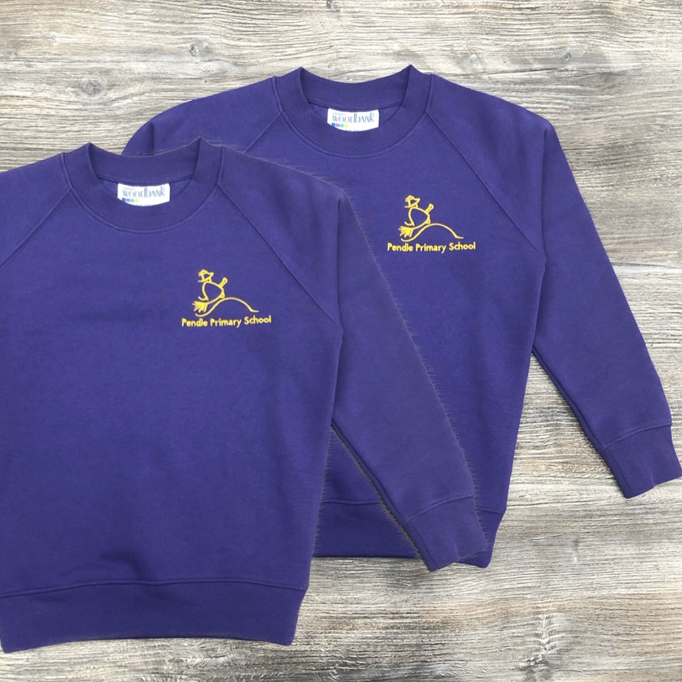 2 x Pendle Sweatshirts