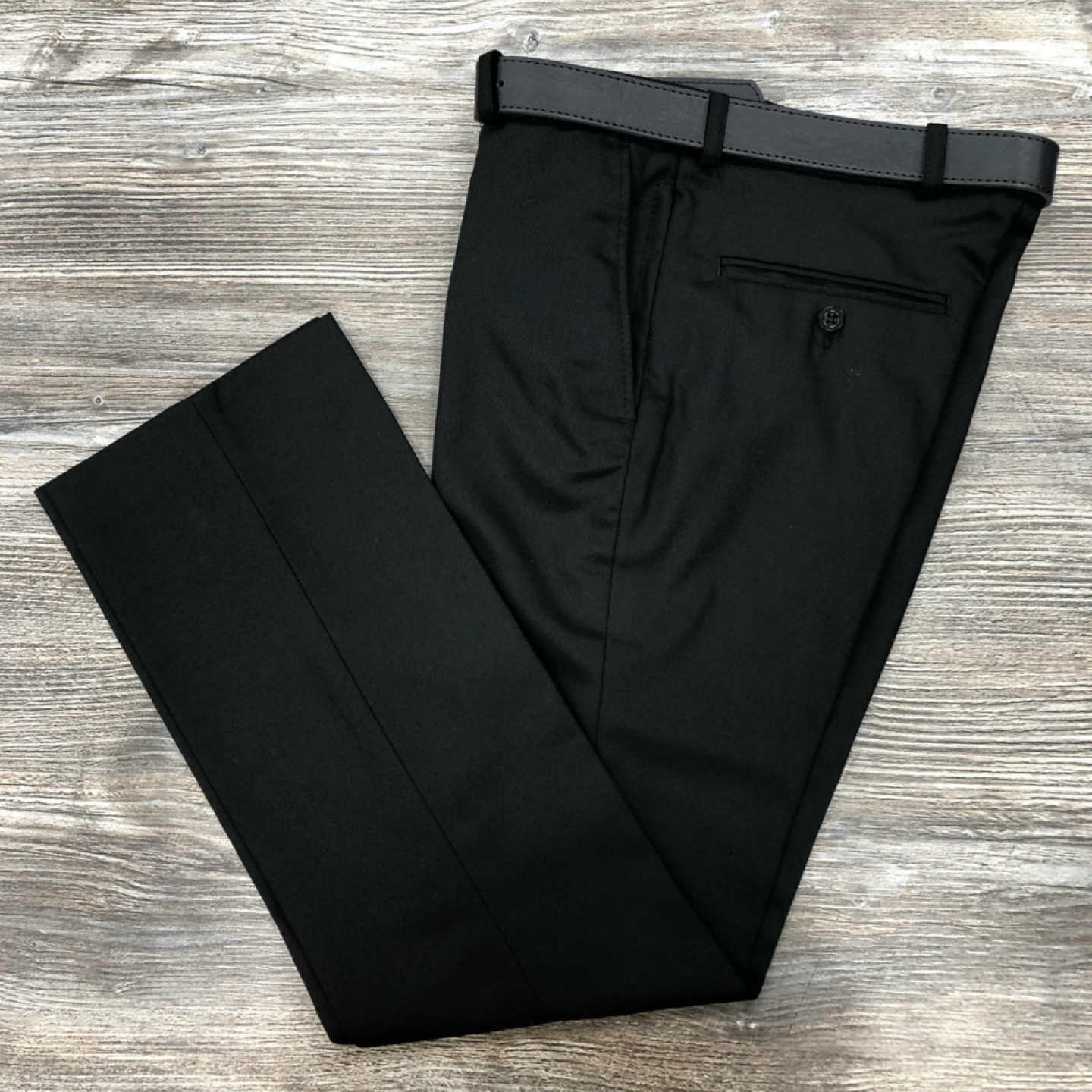 David Luke Black Senior Trousers