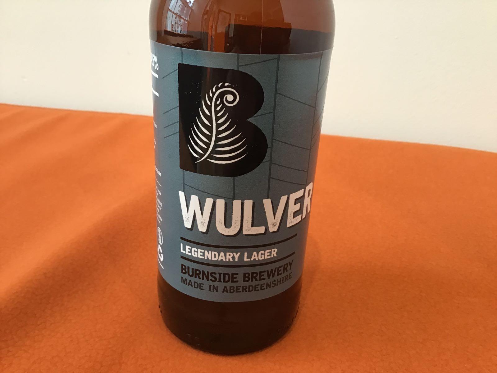 Burnside Brewery: Wulver Legendary Lager