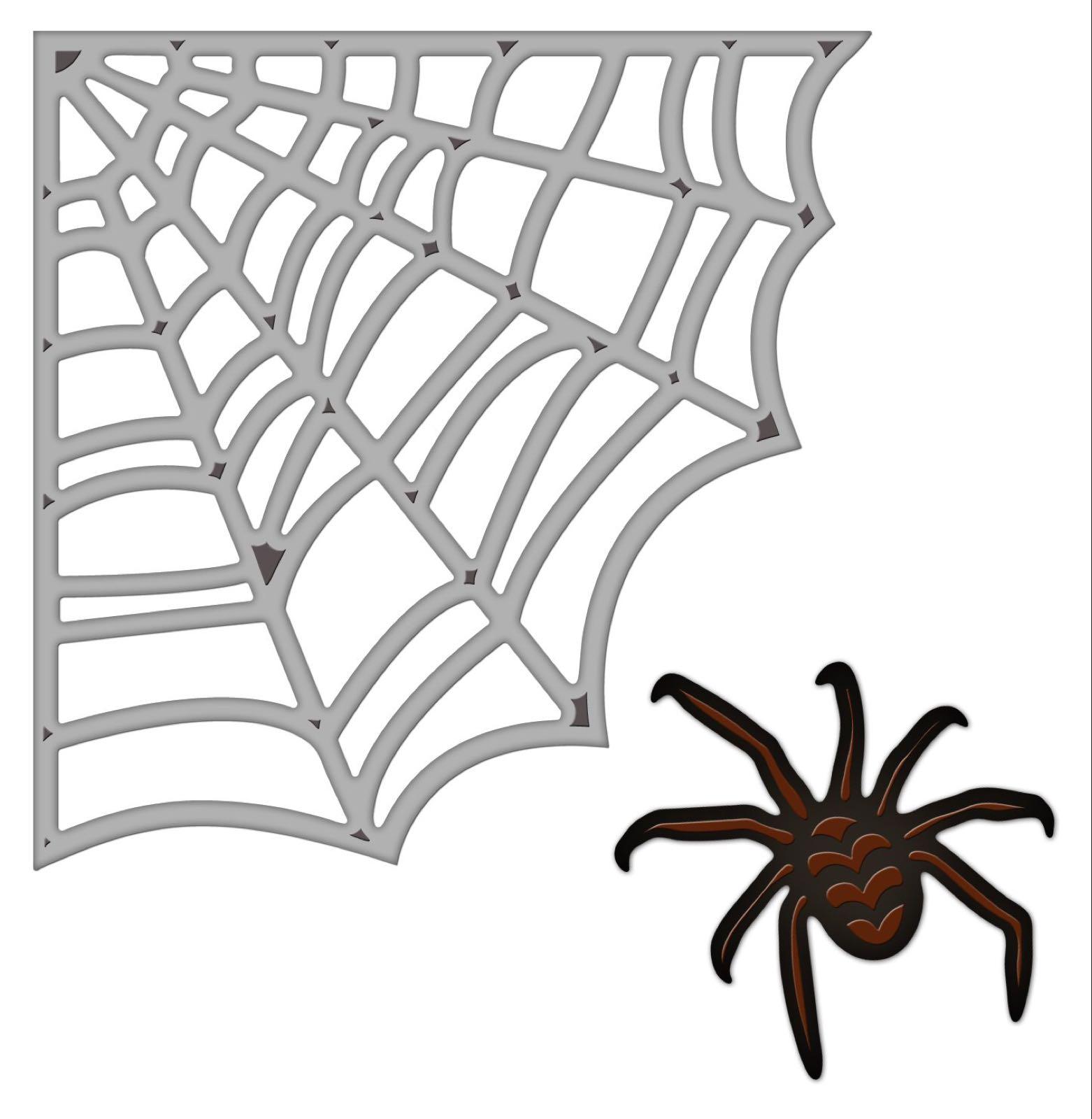 Spellbinders spider web