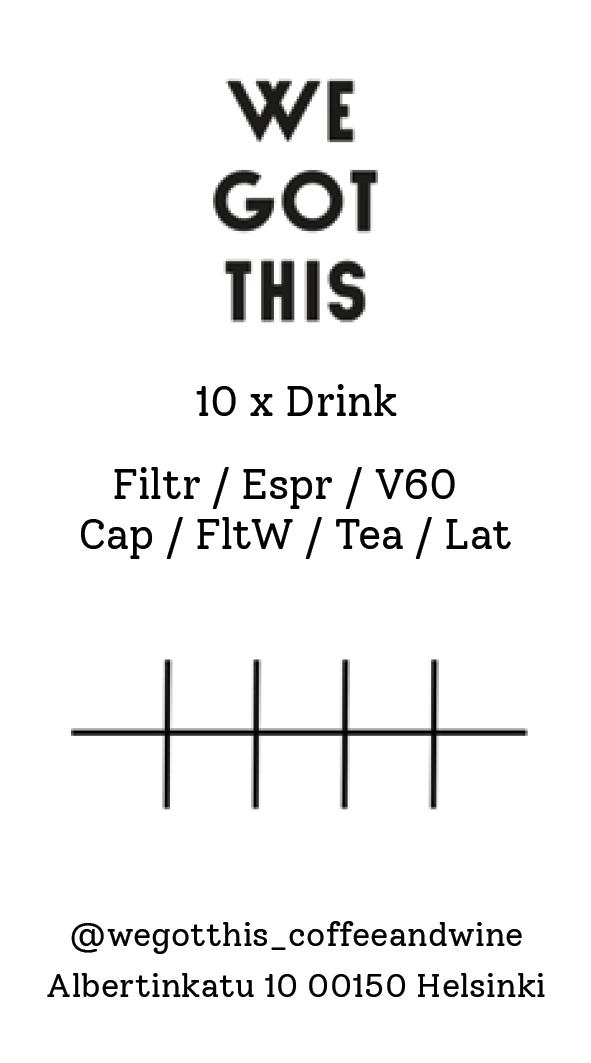 10 x Drink