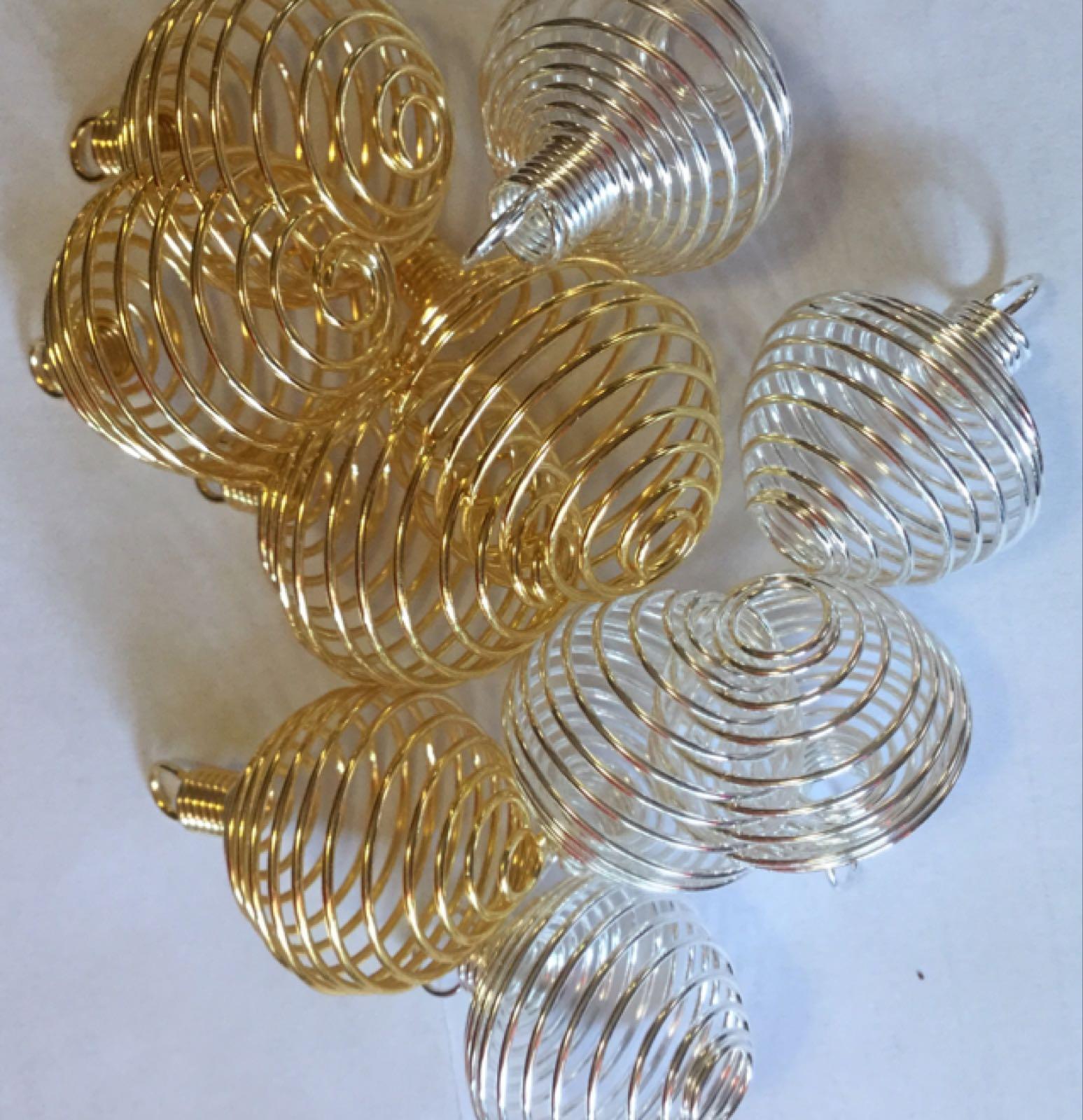 Spiralhållare till sten