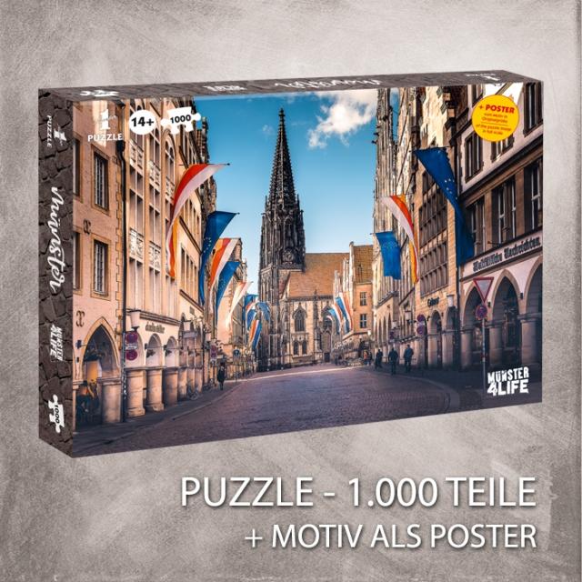Puzzle Prinzipalmarkt 1000 Teile
