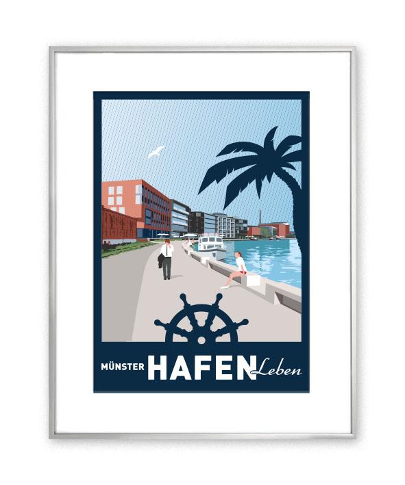 MÜNSTER Passepartout Hafen