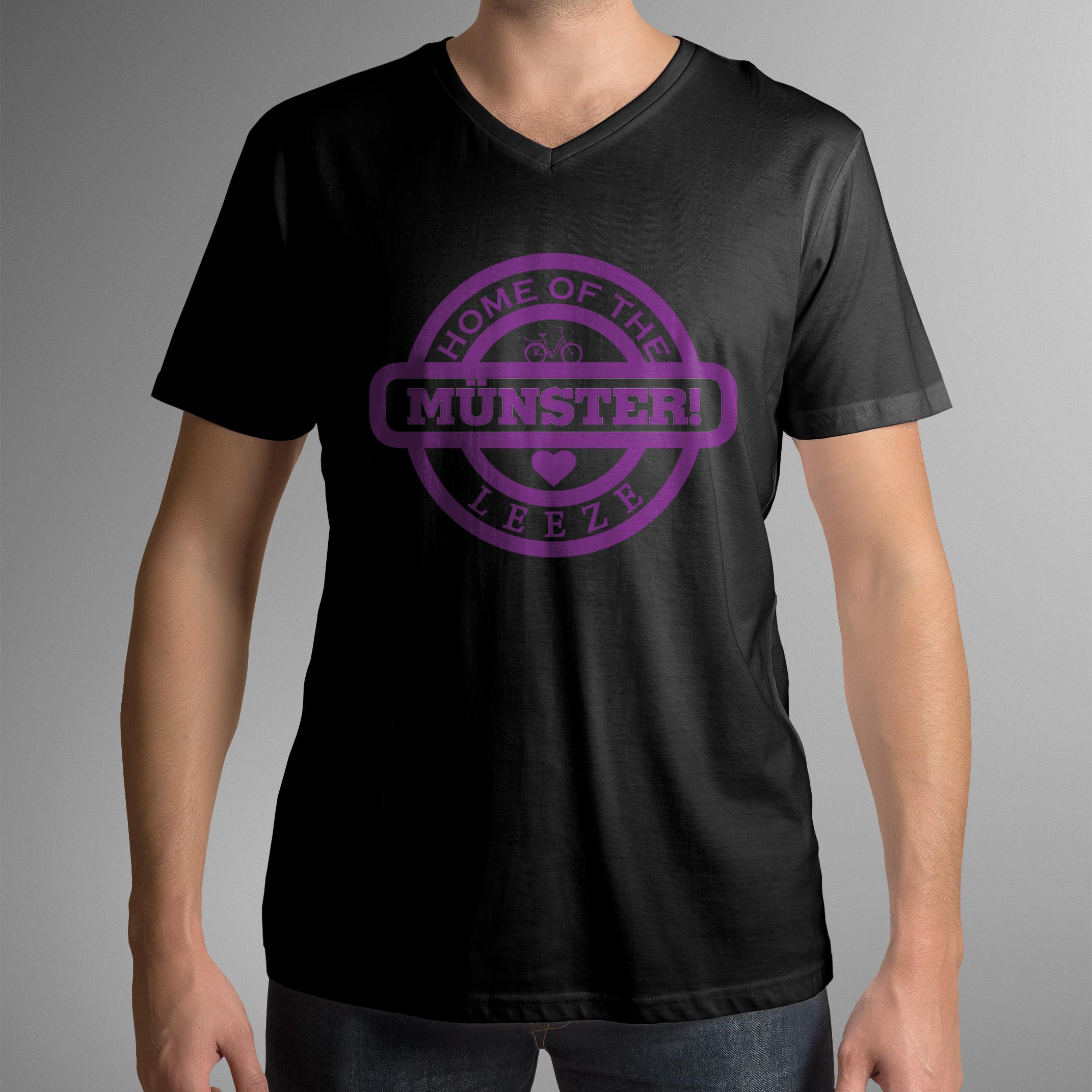 """Münster T-Shirt """"Leeze"""" (V-Ausschnitt)"""