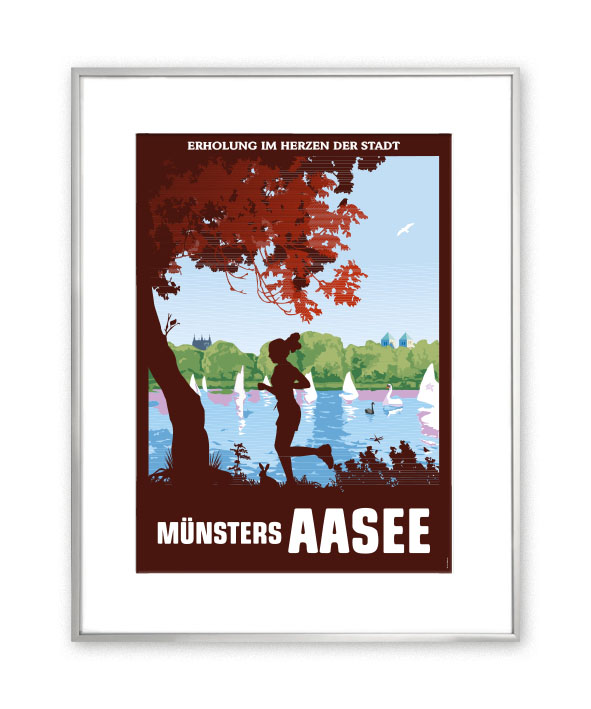 MÜNSTER Passepartout Aasee