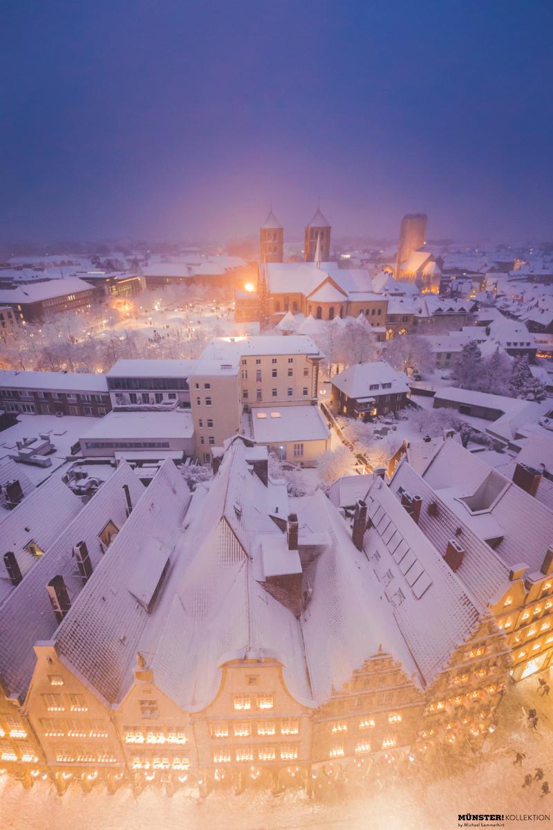 Winter-Dom, Leinwand