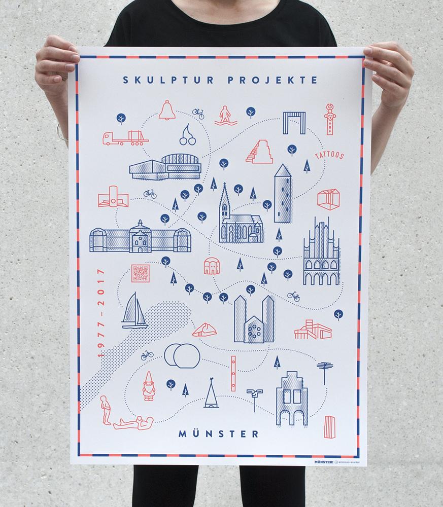 Poster Skulptur Projekte 2017 70x50