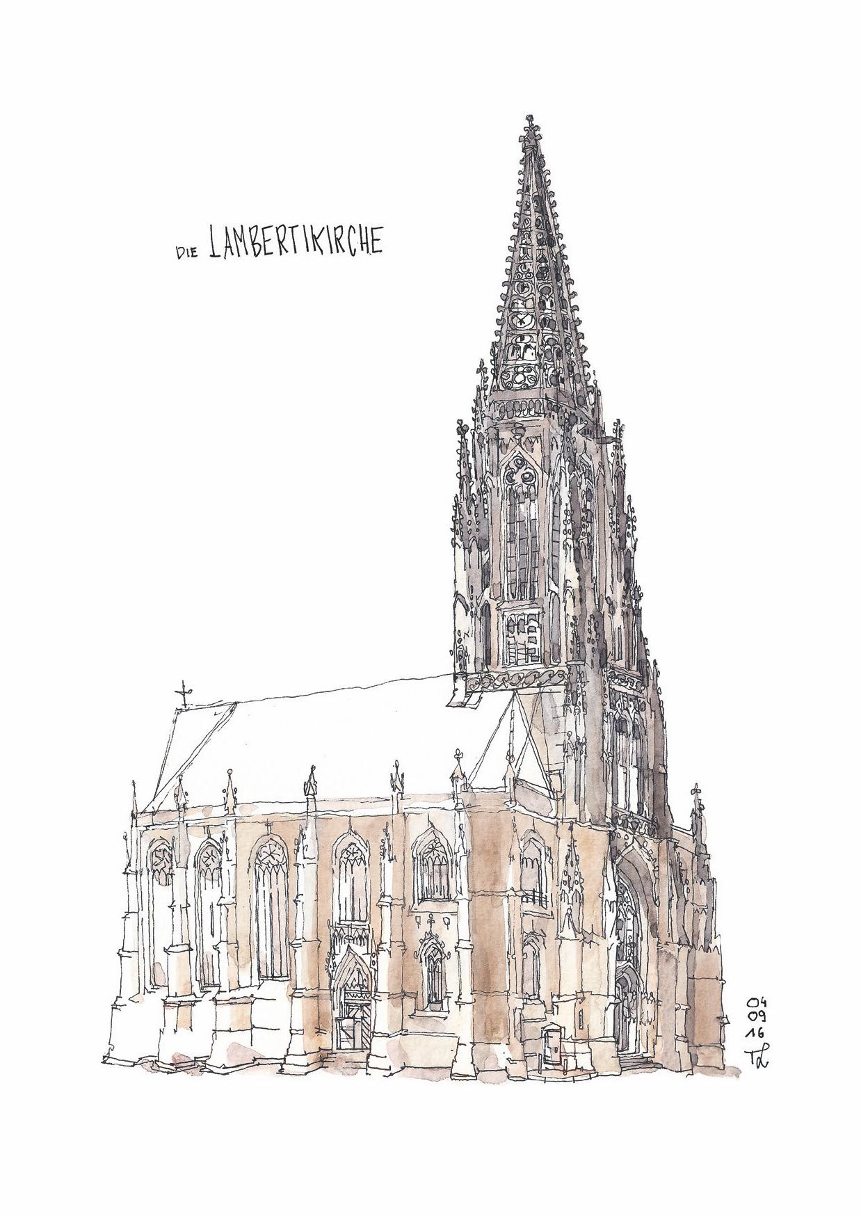 Grußkarte St.Lamberti