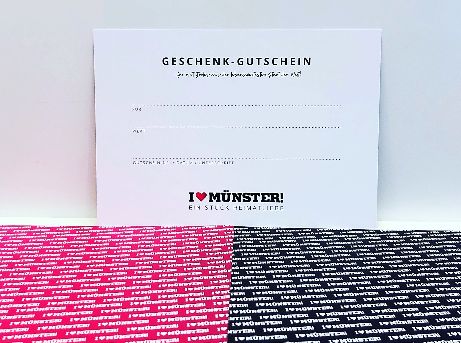 Geschenk-Gutschein Seegers, Blau
