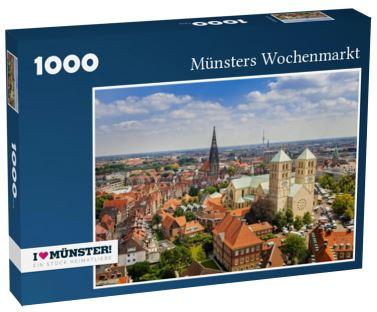 Puzzle Wochenmarkt 1000 Teile