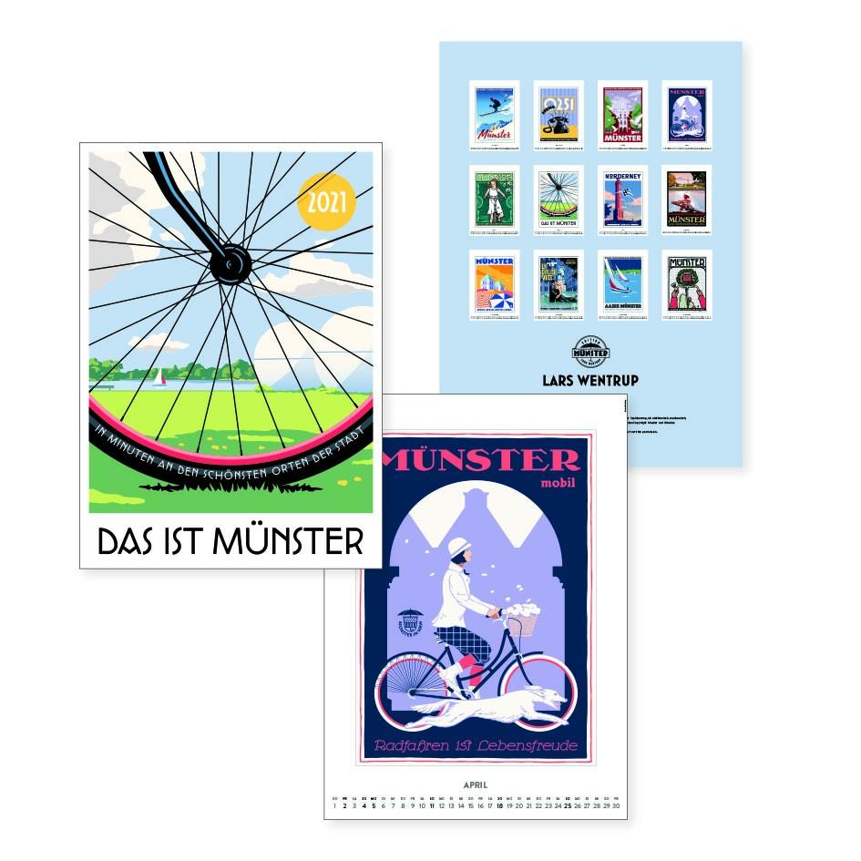 Das ist Münster - Kalender Wentrup 2021