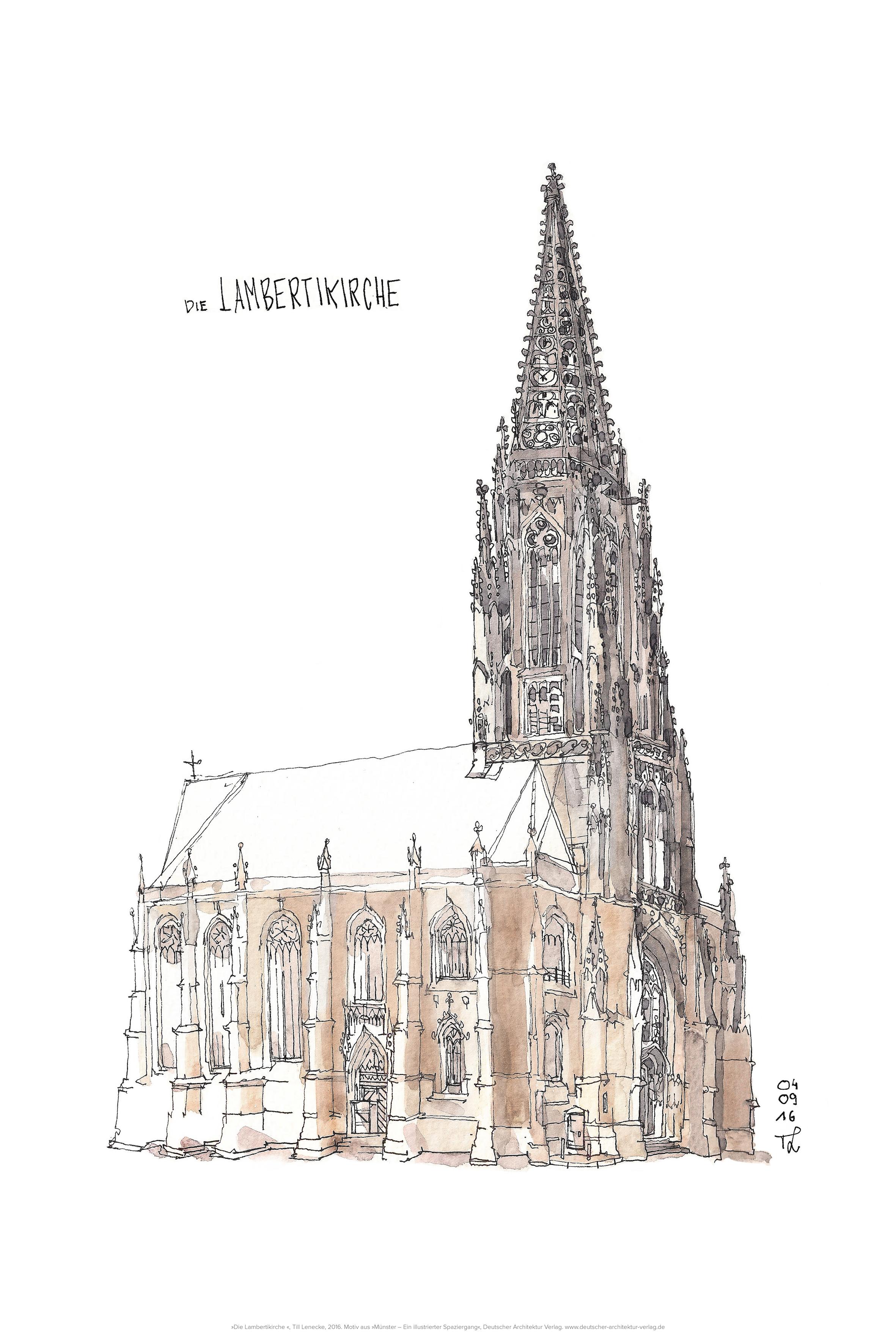 St.Lamberti, gerahmt
