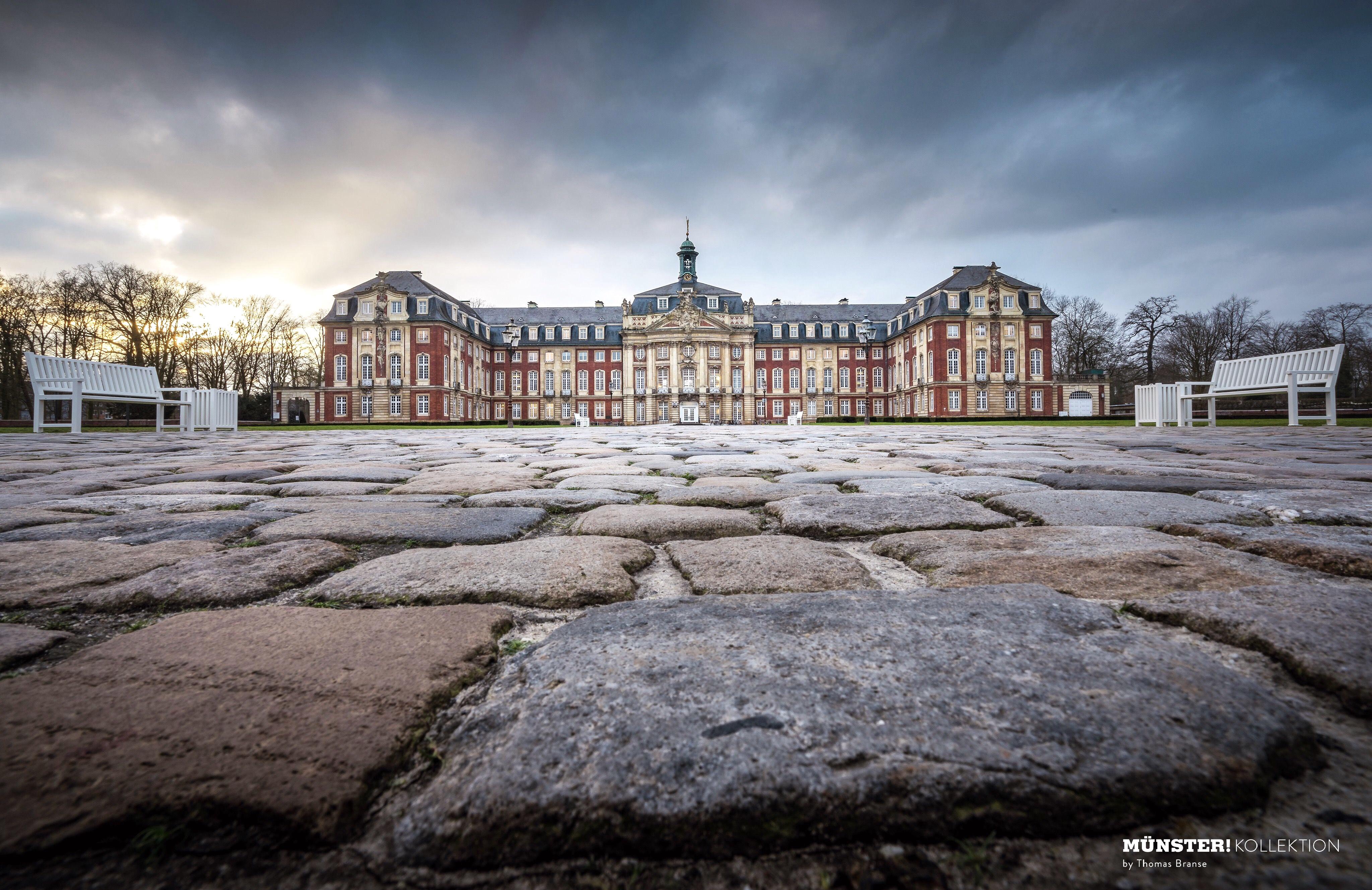 Schloss, Leinwand