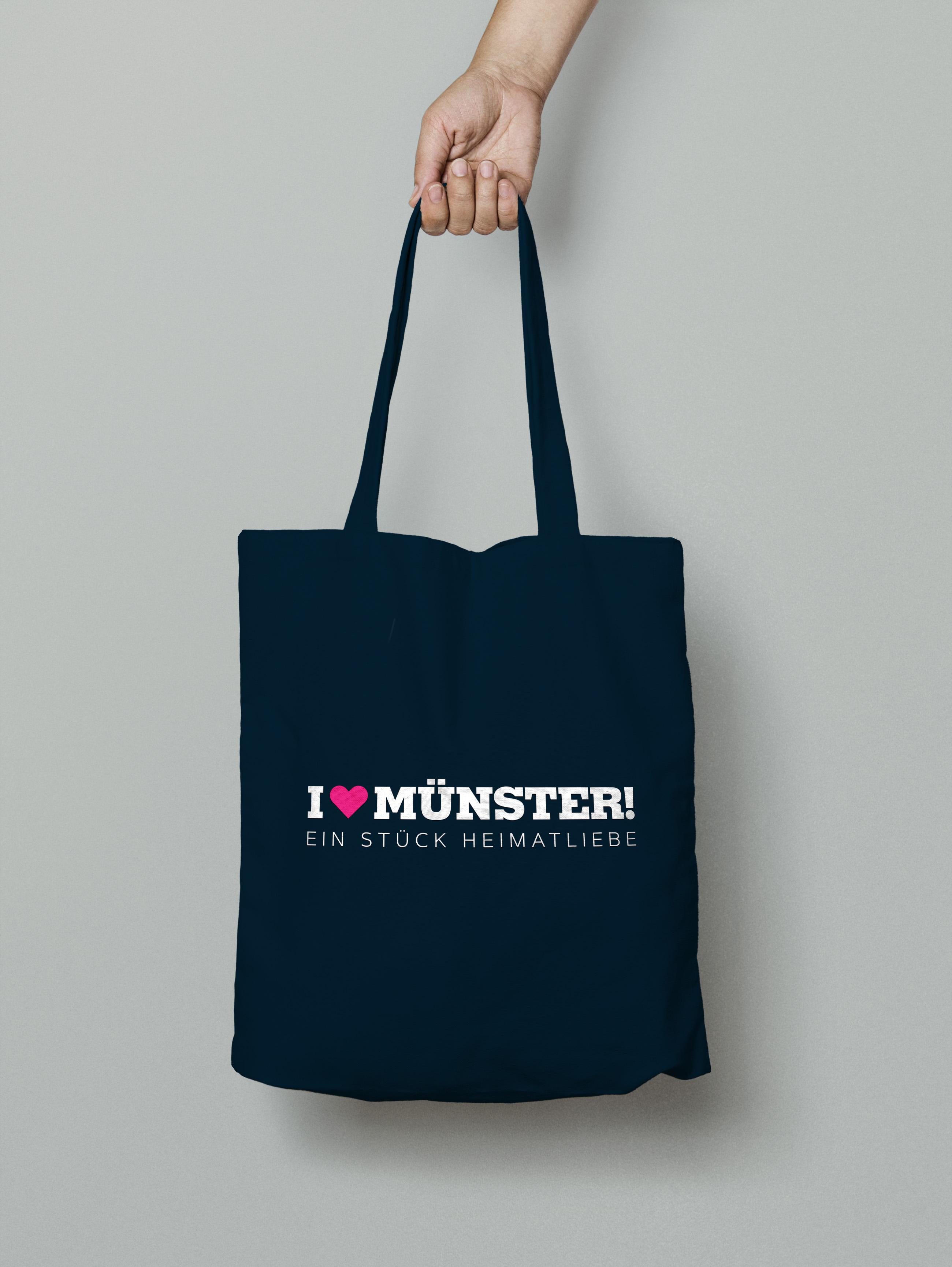 Heimatliebe Münster Tasche