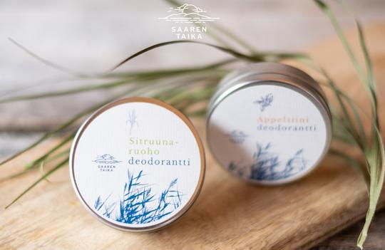 Voidedeodorantti Sitruunaruoho
