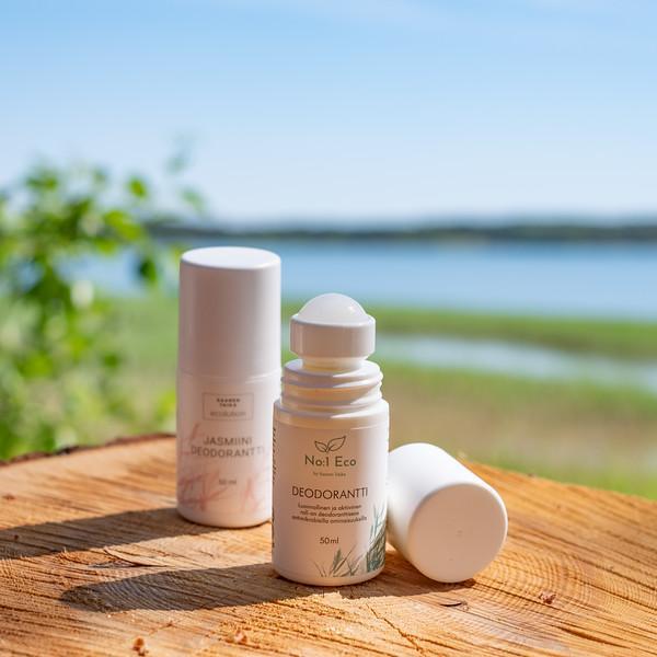 Roll-on deodorantti TYRNI - UNISEX! TEHOKAS! Alumiiniton, vegaaninen, 95% luonnollista