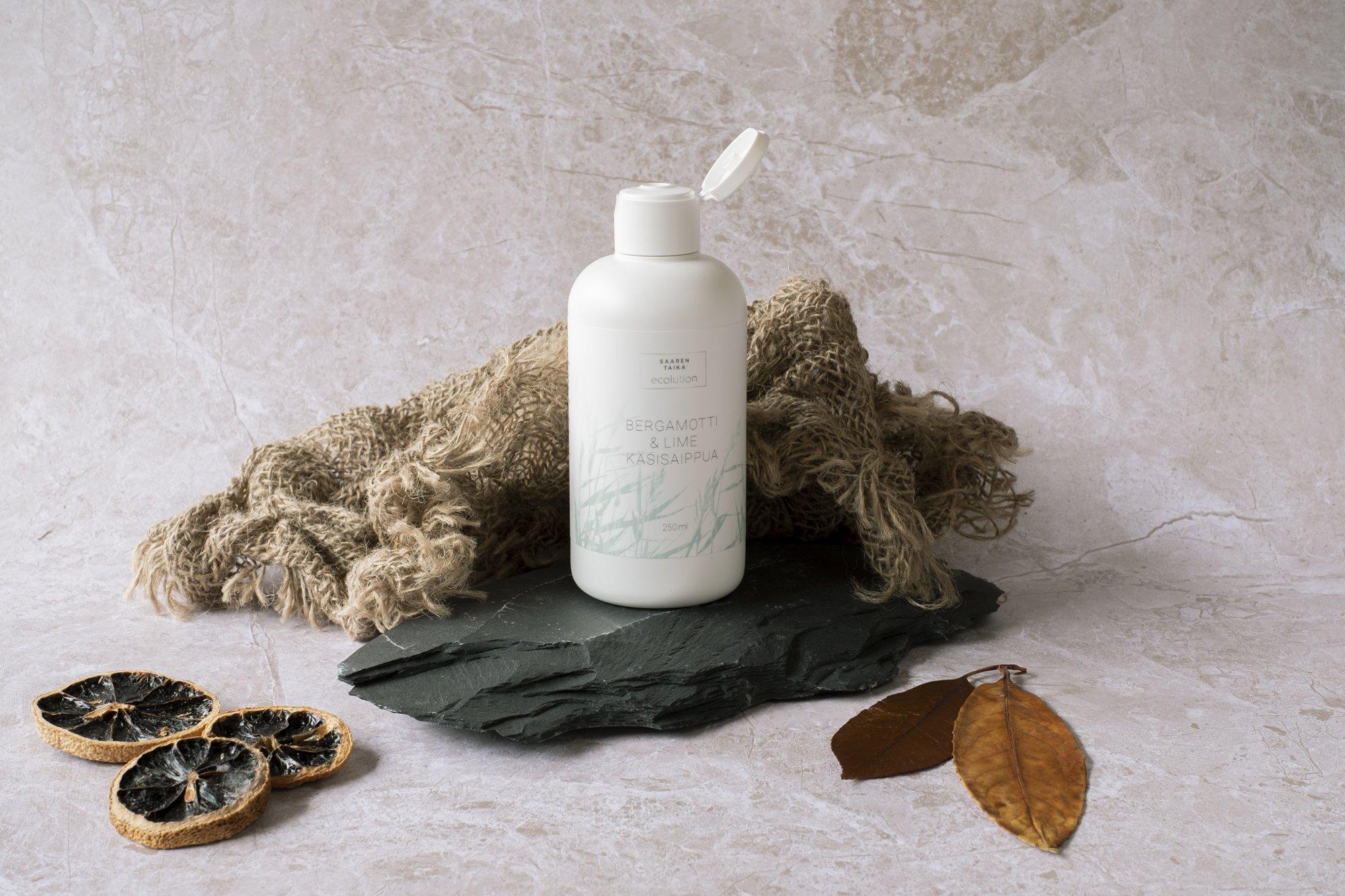 Ecolution Hellävarainen, virkistävä ja täyteläinen Bergamot & Lime Käsisaippua (käsienpesuvoide) 250ml - Sulfaatiton, parabeeniton, 95% luonnollinen