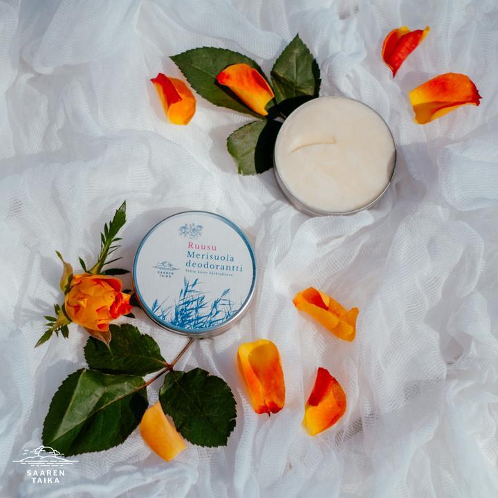 Voidedeodorantti Ruusu Merisuola (Morocco)
