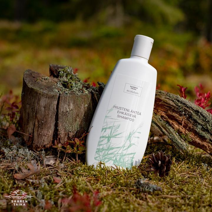 Hiustenlähtöä ehkäisevä shampoo 400 ml - Sulfaatiton, Parabeeniton, Vegaaninen, 100% Luonnollinen