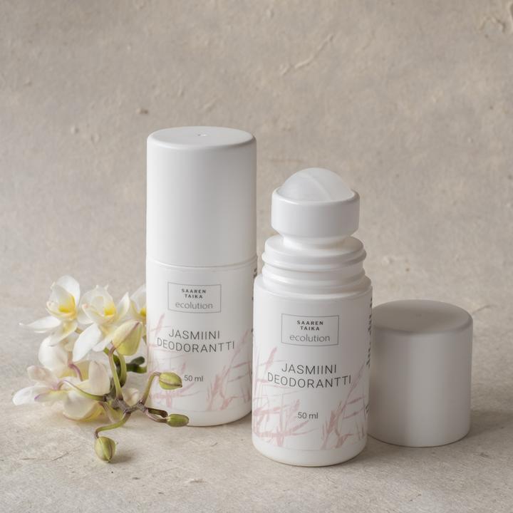 Saaren Taika Ecolution Roll-on deodorantti JASMIINI - Alumiiniton, vegaaninen, 93% luonnollista