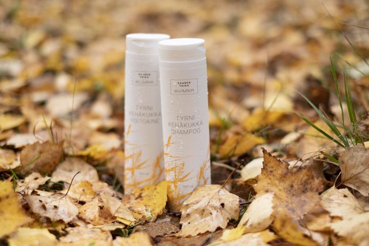 Ecolution tyrni-kehäkukka shampoo - sulfaatiton, vegaaninen