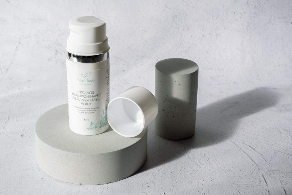 No:1 Eco Juonteita ehkäisevä Pro-age hyaluronihappo silmänympärysvoide