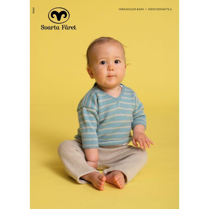 Mønsterhefte 6 vårkänslor barn