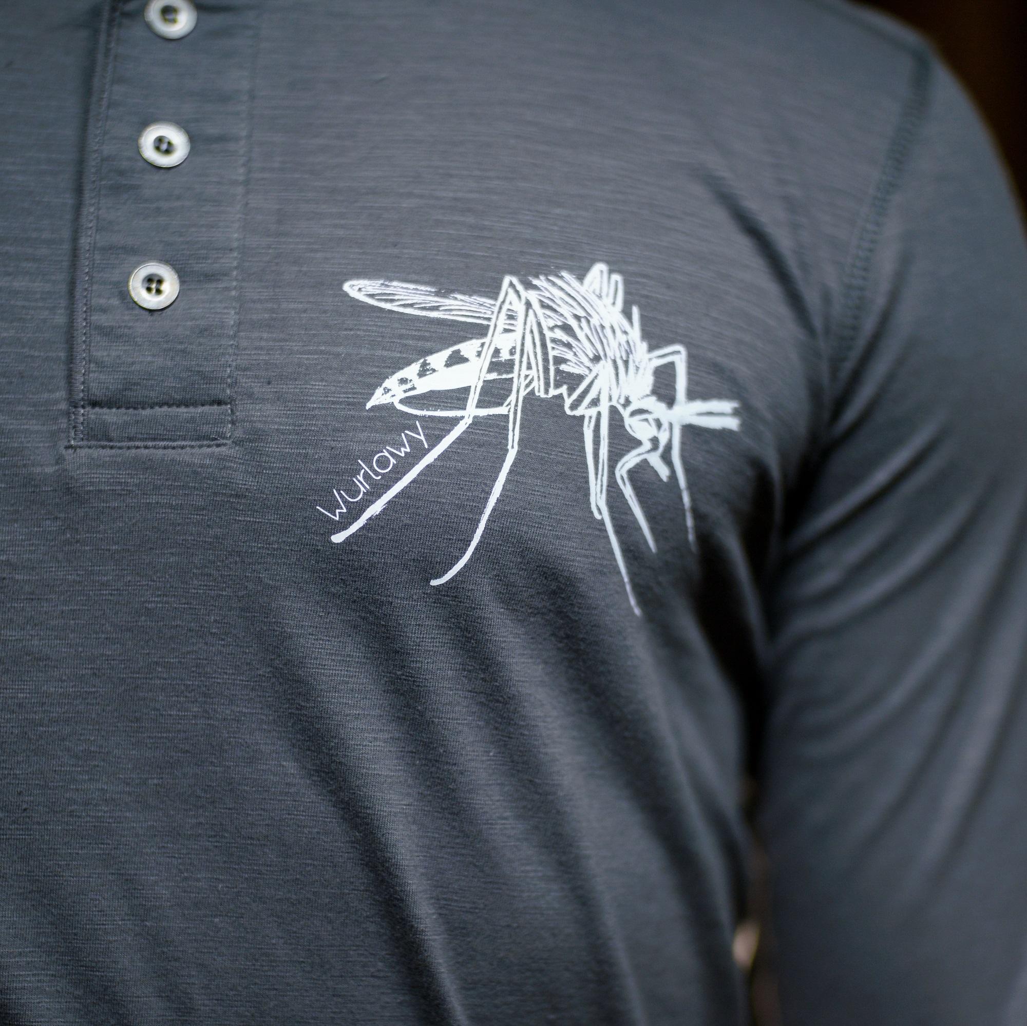 Herren LA mit Knopfleiste - Mücke