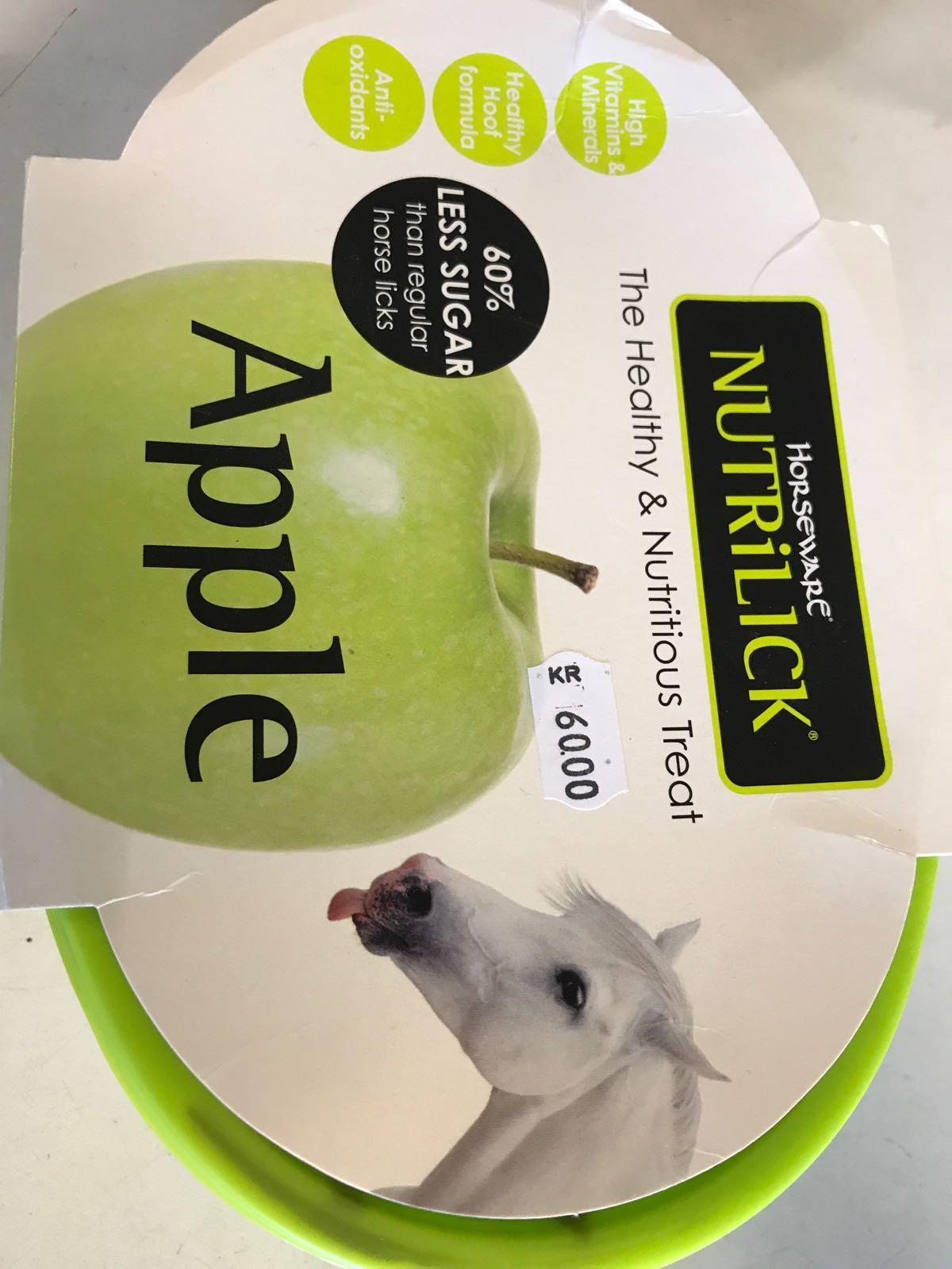 Slicksten häst (äpple)