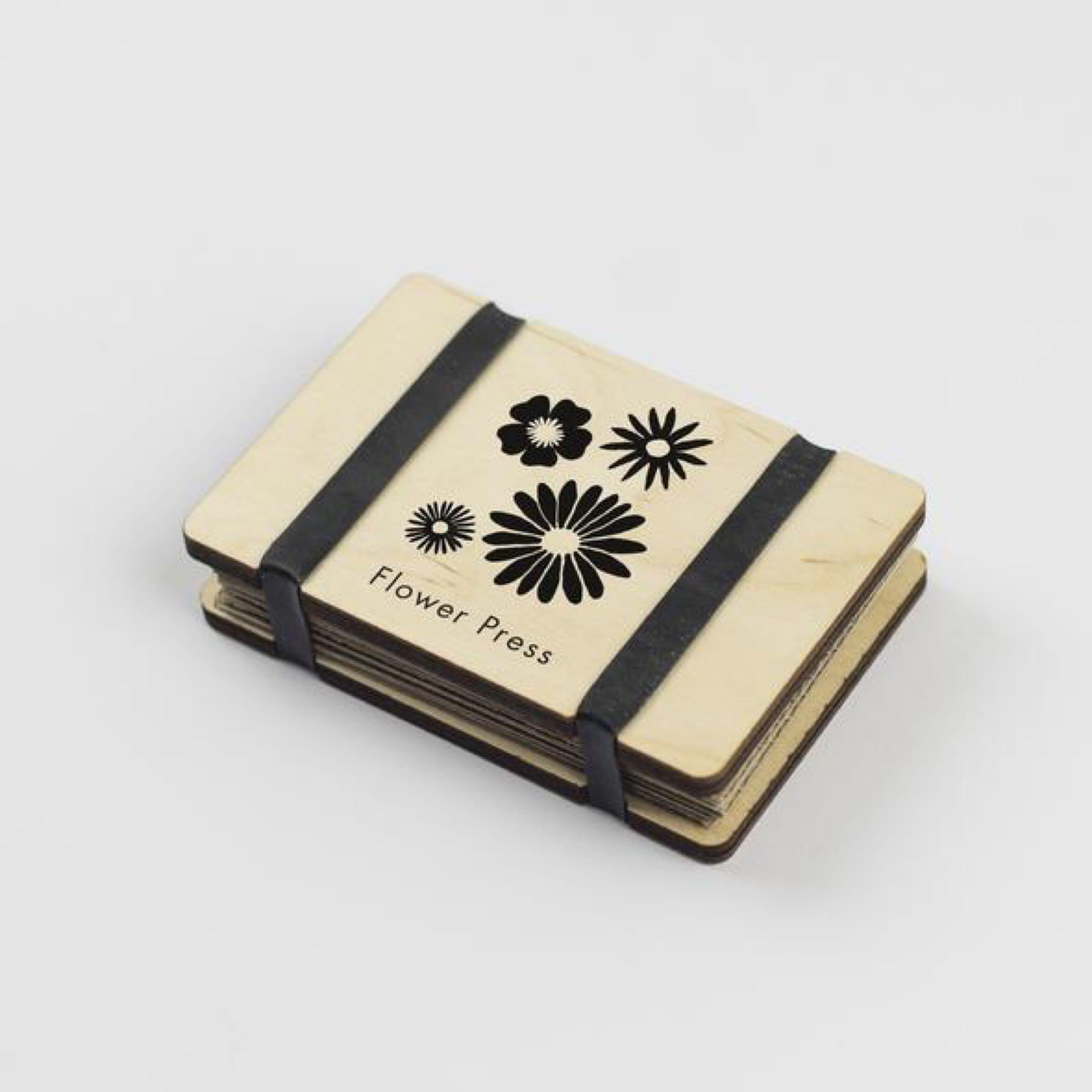 Pocket Flower Press - Silhouette by Studio Wald