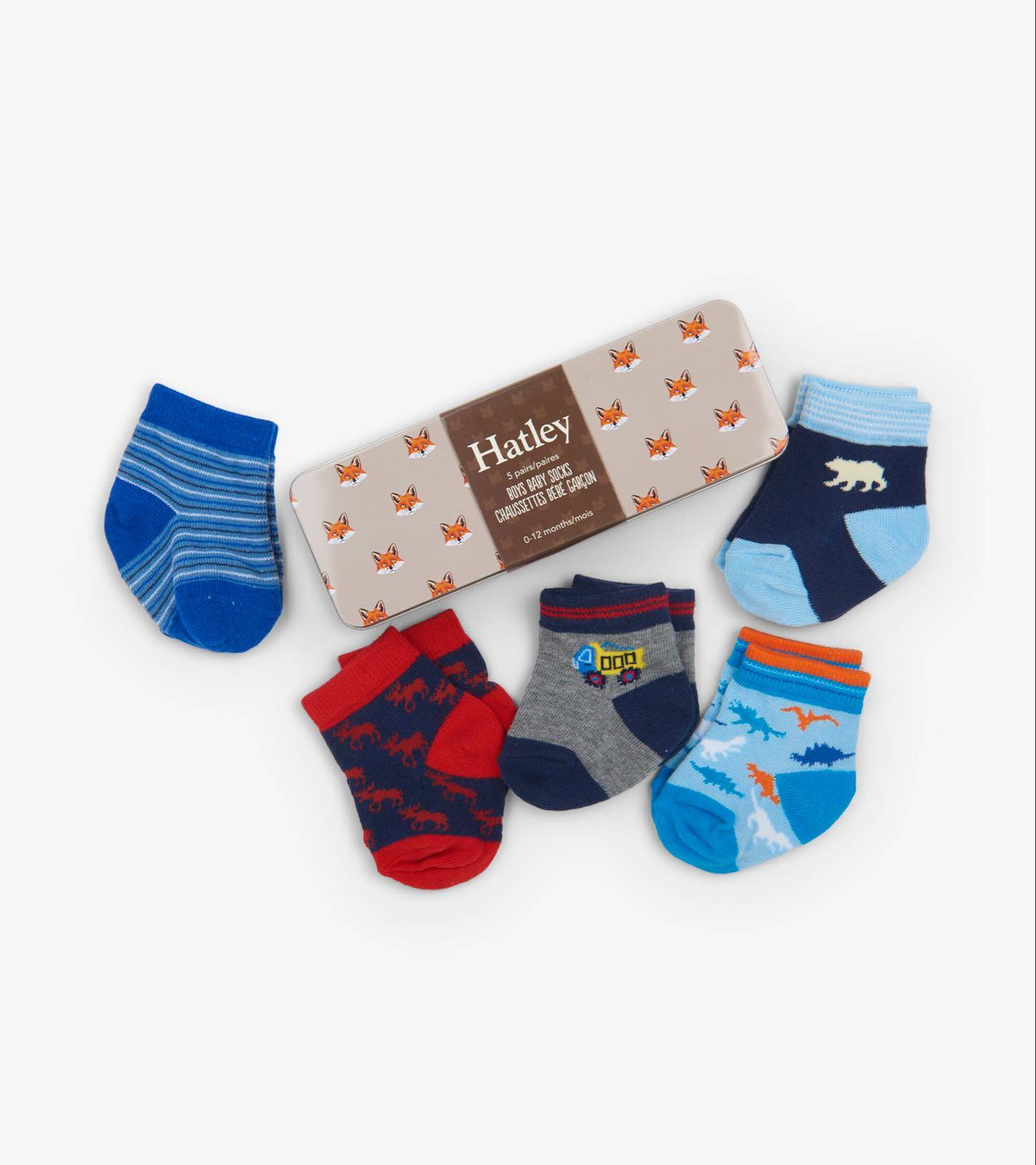 Hatley Socks in a Tin