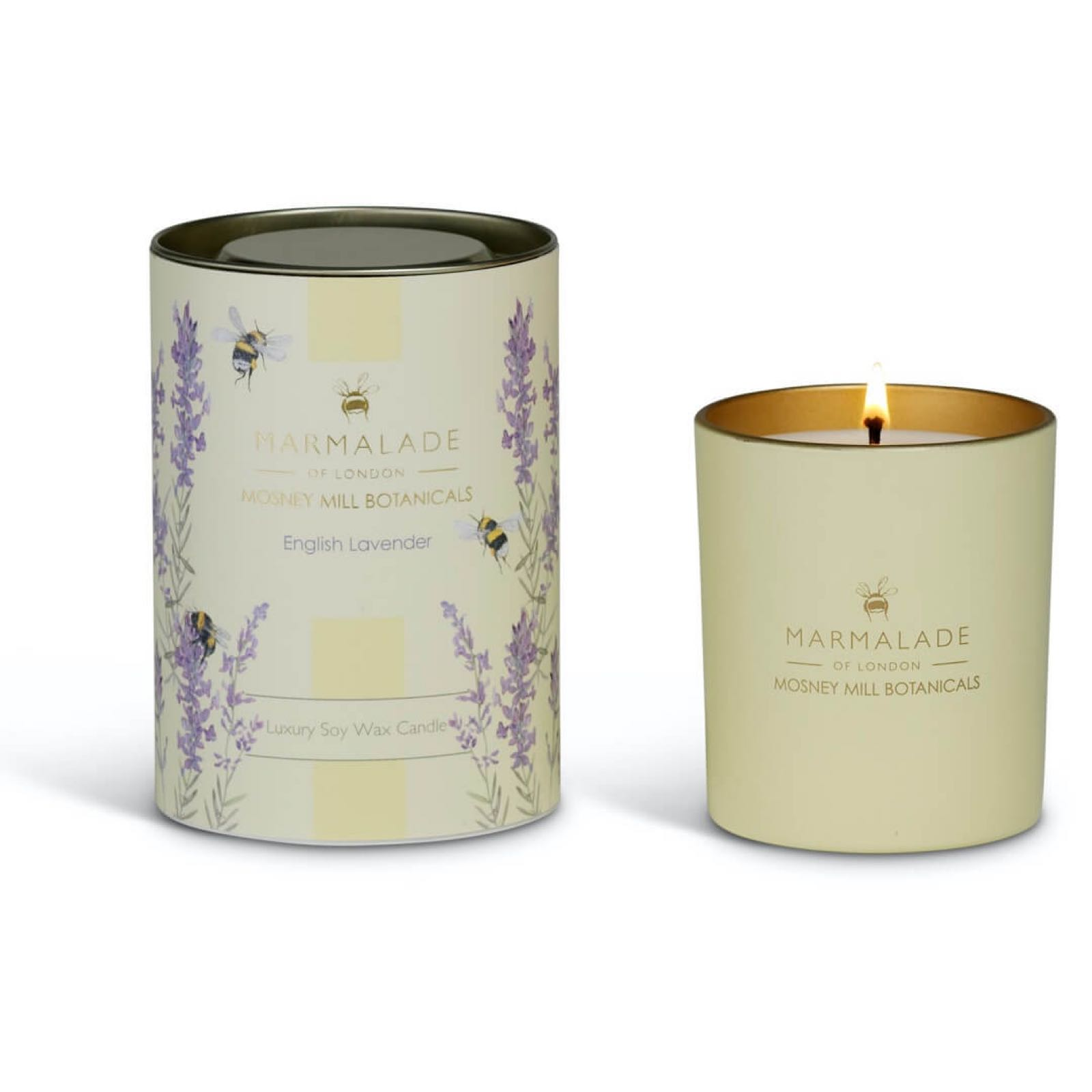 Mosney Mill English Lavender Glass Candle