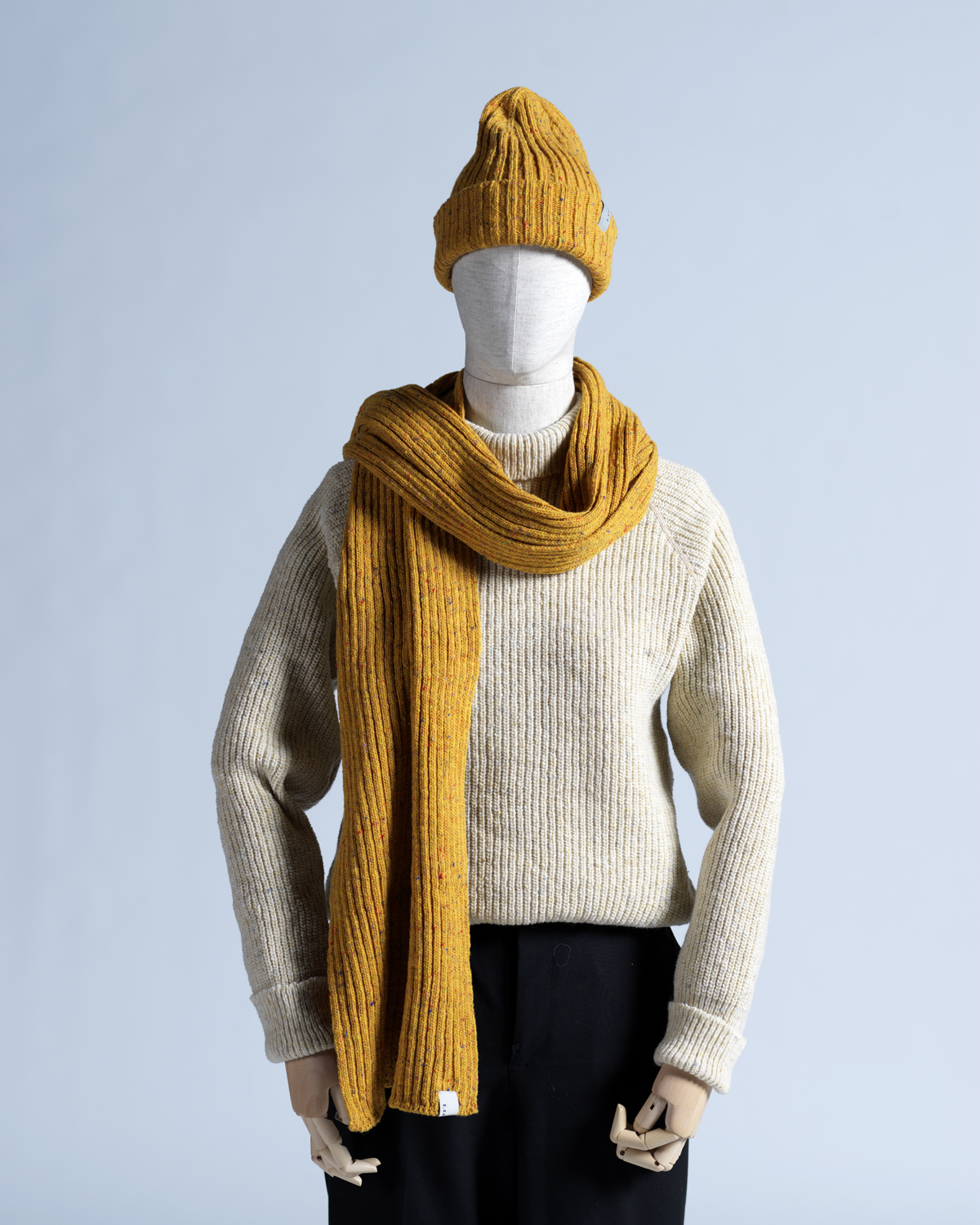 DONEGAL WOOL SCARF