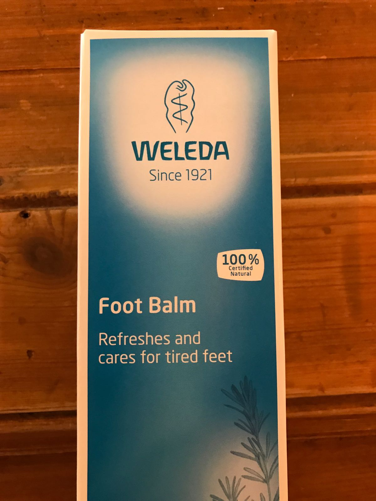 Foot Balm Weleda