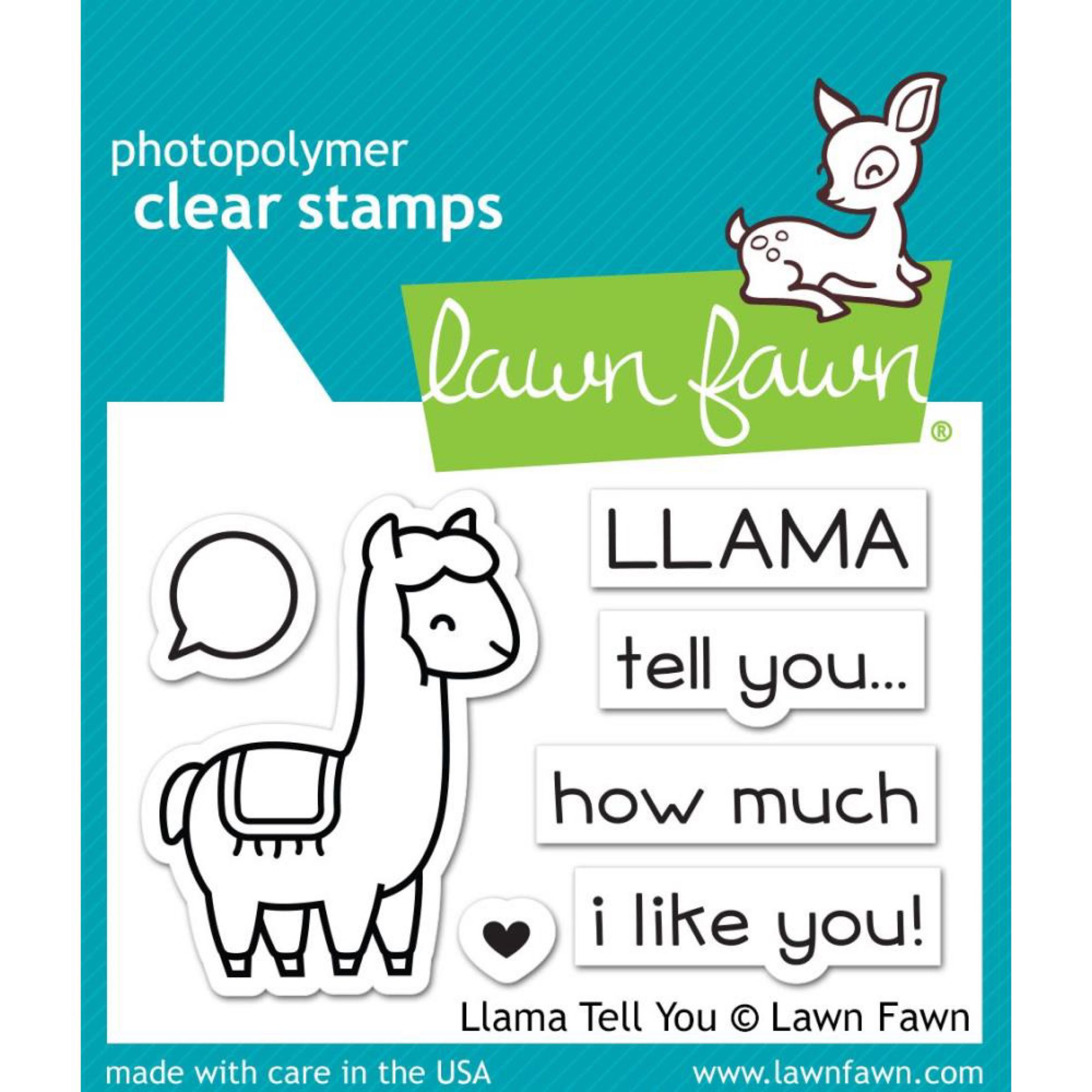 Lawn Fawn Clear Stamps / Klar Stempler - Year 7