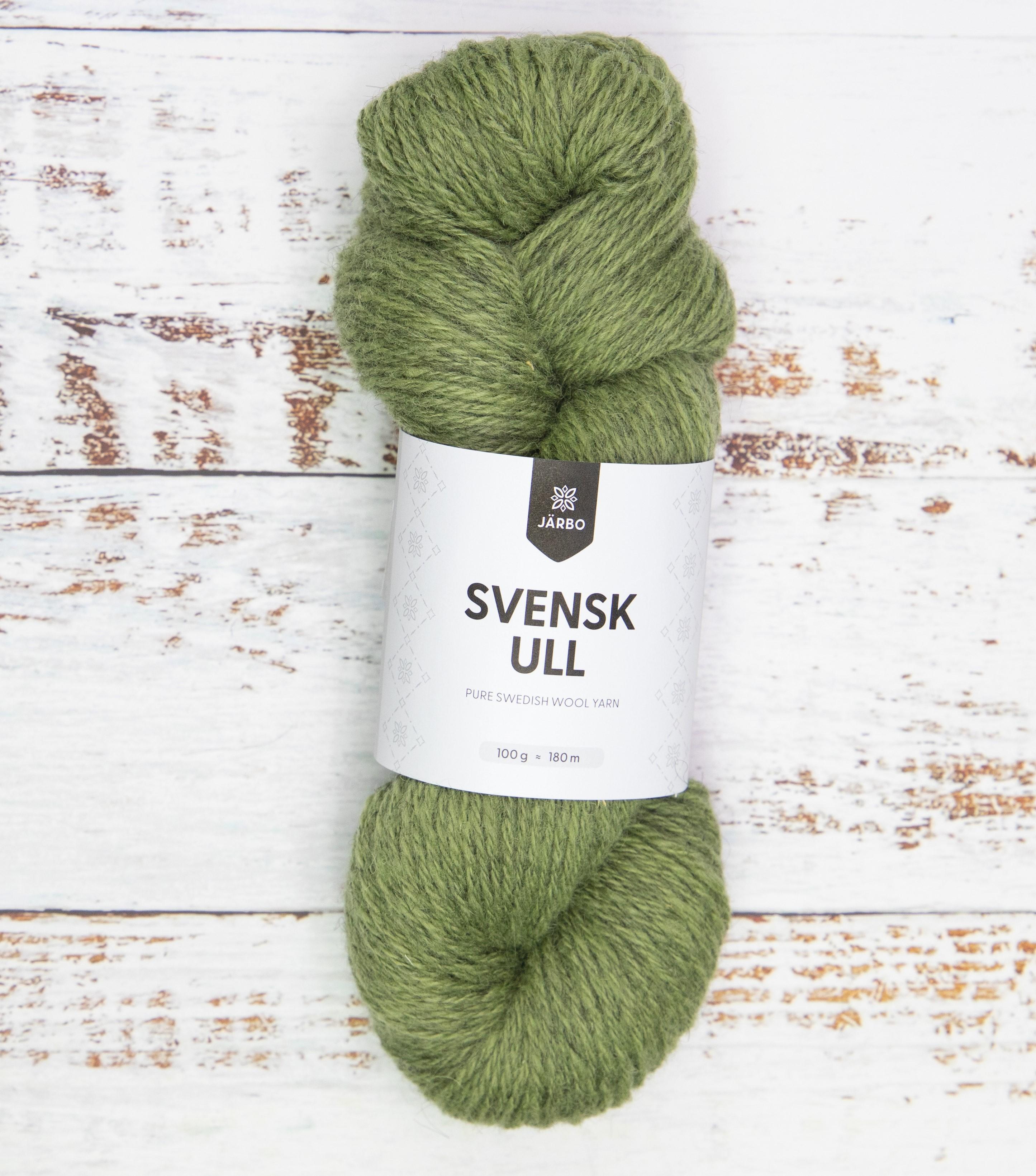 Svensk Ull Midsummer Green 59014