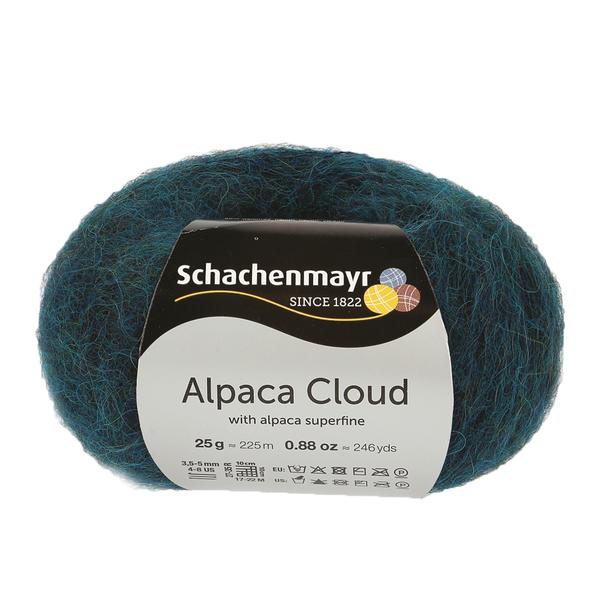 Schachenmayr Alpaca Cloud Peacock