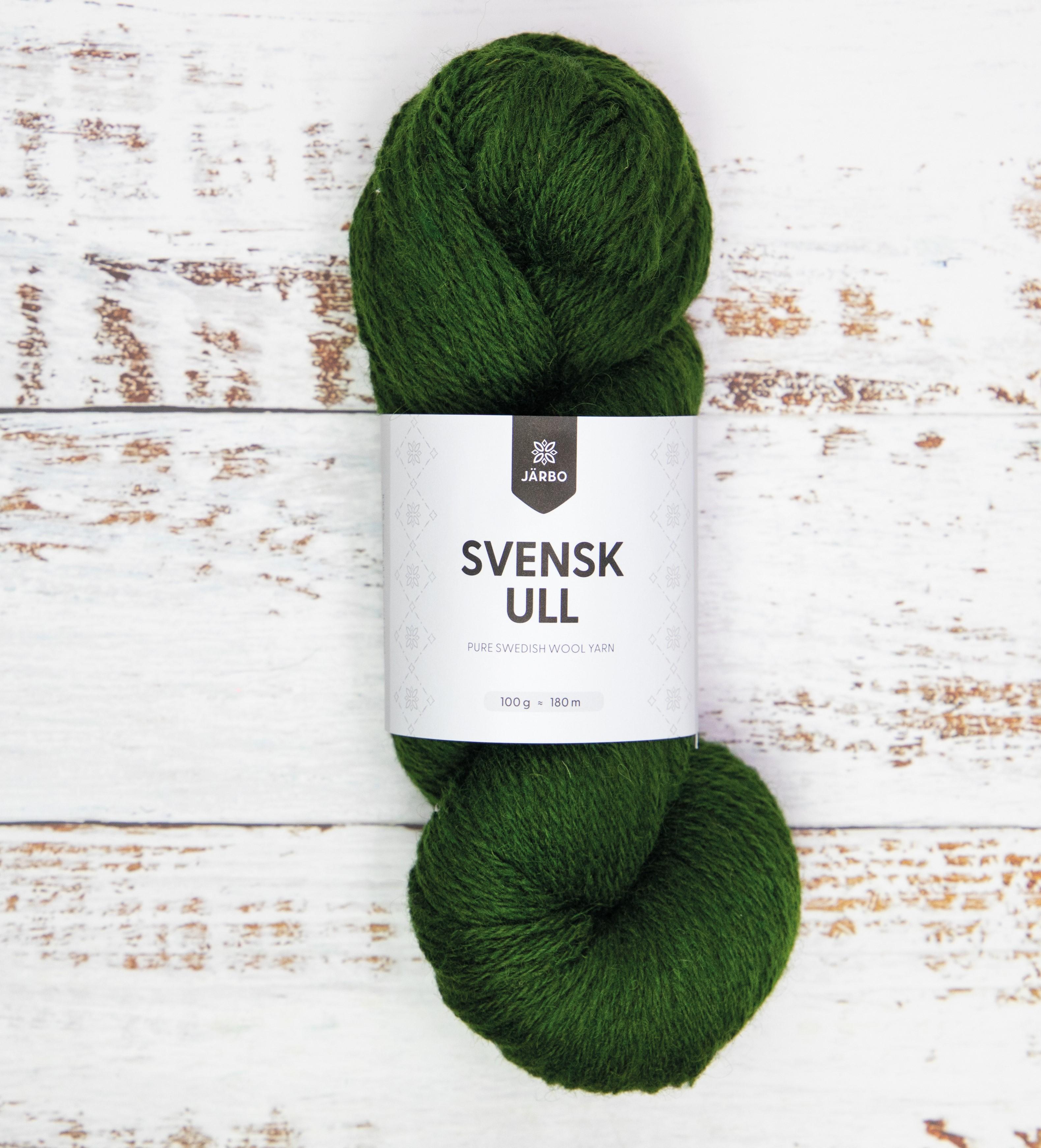Svensk Ull Pine Tree Green 59008