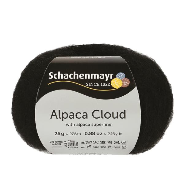 Schachenmayr Alpaca Cloud Svart