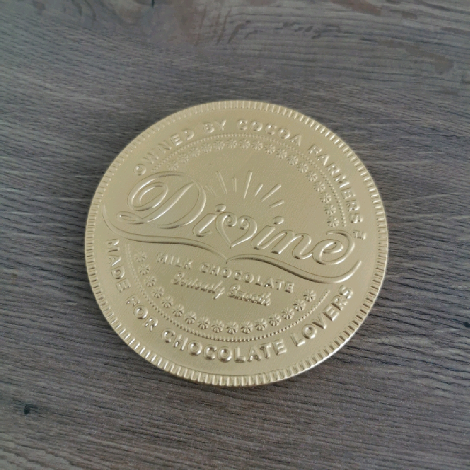 Divine Stor Guldpeng Mjölkchoklad 58 g