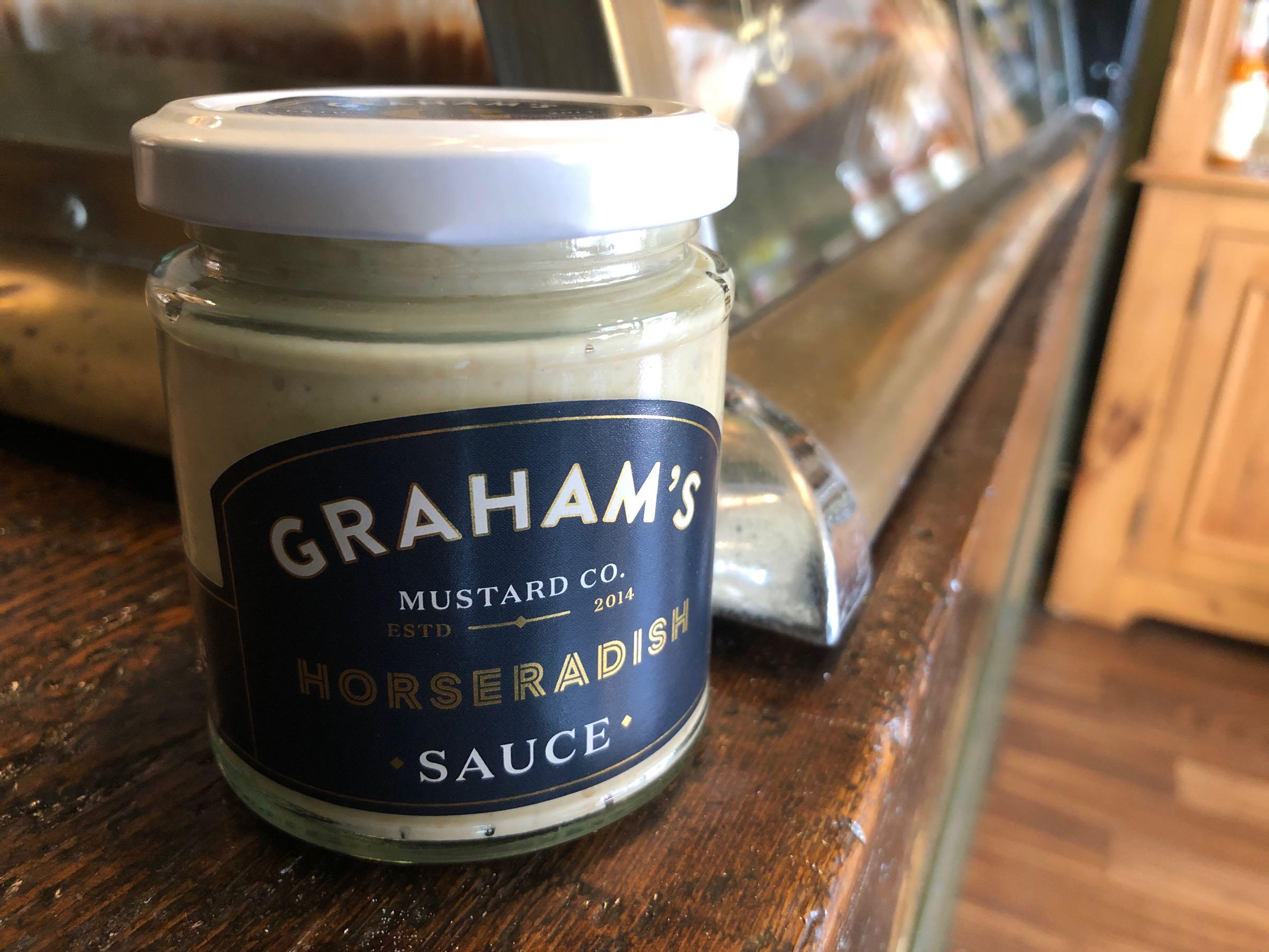 Graham's Horseradish 215g