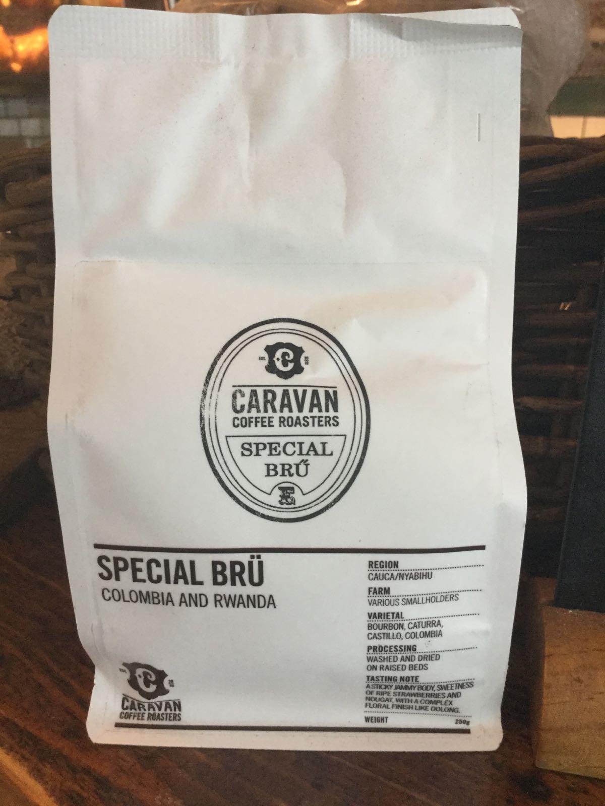Caravan Roastery coffee 250g bag