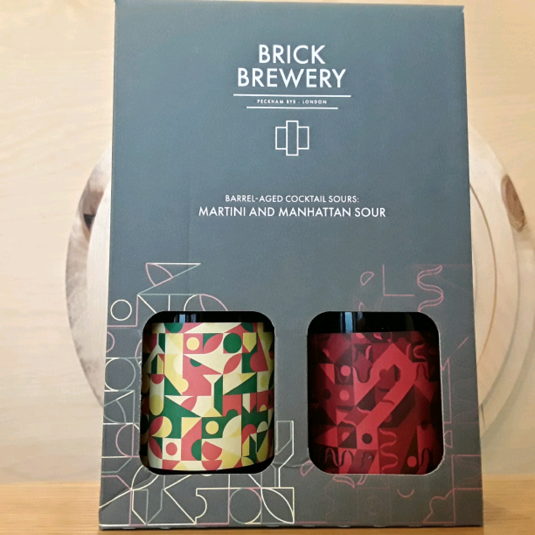 Brick Brewery | BA Manhattan and Martini - 2 Pack | Sour