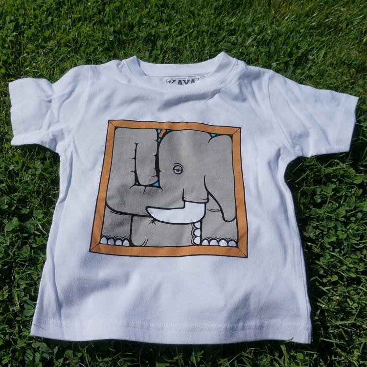 Kids Tee Elephant