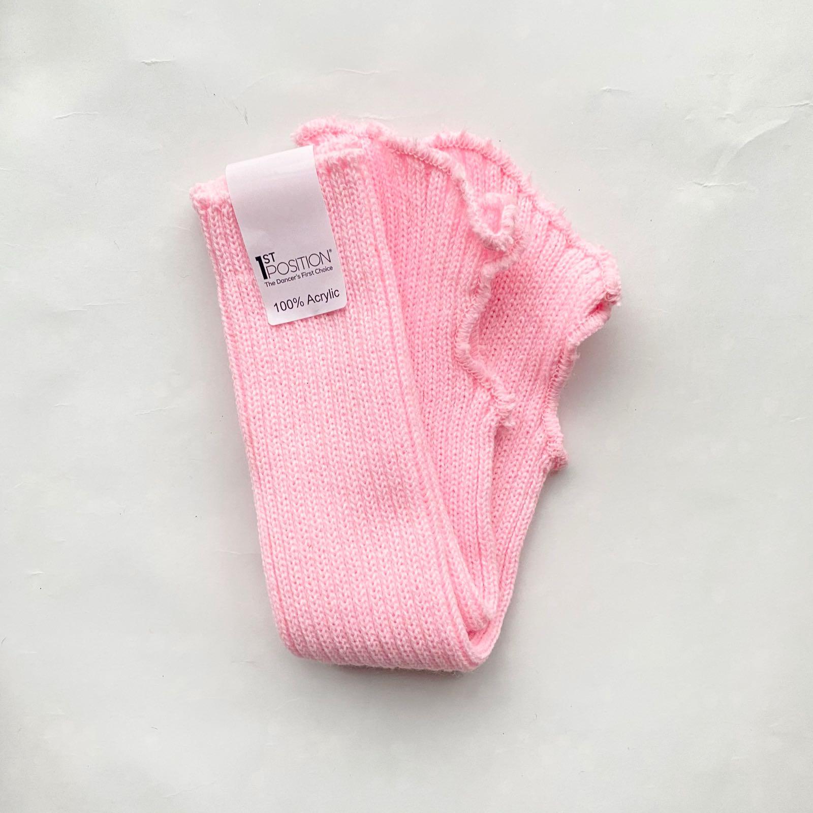 Vaaleanpunaiset säärystimet, 40 cm