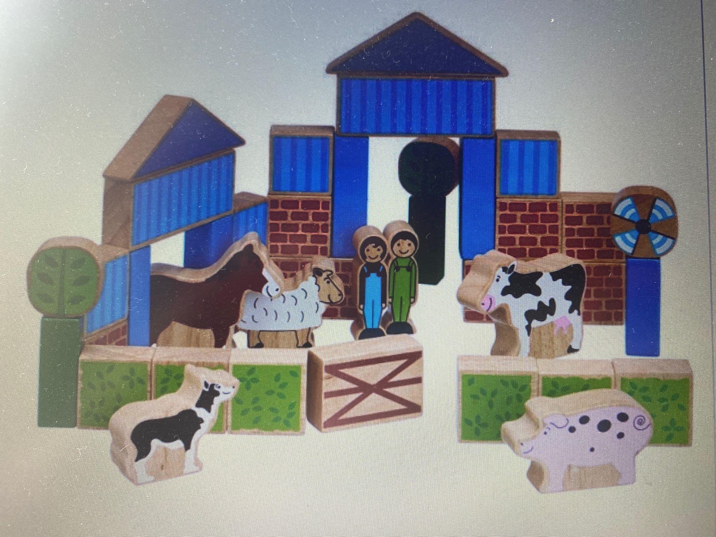 Lanka Kade -  building blocks- Farm